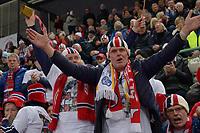 SPEEDSKATING: HAMAR: Vikingskipet, 29-02-2020, ISU World Speed Skating Championships, Norwegian fans, ©photo Martin de Jong