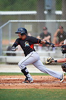 Miami Marlins Rony Cabrera (60) during a minor league Spring Training intrasquad game on March 31, 2016 at Roger Dean Sports Complex in Jupiter, Florida.  (Mike Janes/Four Seam Images)