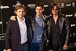 Jesus Ulled, Eduardo Casanova and Gerardo Guerrero at Nocturna, the international festival of fantastic cinema of Madrid. May 23,2016. (ALTERPHOTOS/Rodrigo Jimenez)