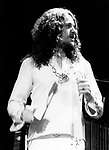 Yrs 1985 Jon Anderson at Reding Festival August 23rd.<br /> © Chris Walter