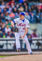 20 April 2013: New York Mets pitcher Aaron Laffey on the mound against the Washington Nationals at Citi Field in Flushing, NY. The Mets fell to the visiting Nationals 7-6, tying their 3-game weekend series at one a piece. Mandatory Credit: Ed Wolfstein Photo *** RAW (NEF) Image File Available ***