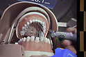 World's first dental treatment simulation system using Mixed Reality (MR) technology