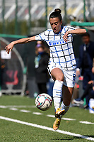 Martina Brustia of FC Internazionale in action during the Women Serie A football match between AS Roma and FC Internazionale at stadio Agostino Di Bartolomei, Roma, March 20th, 2021. AS Roma won 4-3 over FC Internazionale. Photo Andrea Staccioli / Insidefoto