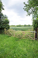 Field gate - Lincolnshire, June