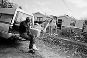 New Orleans, Louisianna.USA.December 1, 2005 ..Hurricane Katrina damage and recovery. Residents of the lower 9th ward return to their homes for the first time..