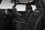 Front seat view of 2016 JEEP Wrangler Sahara 5 Door SUV Front Seat  car photos