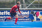 Krefeld, Germany, August 29: During the men bronze medal fieldhockey match between Mannheimer HC and Berliner HC on August 29, 2021 at the 1. Liga-Cup at Crefelder HTC in Krefeld, Germany. (Photo by Dirk Markgraf / www.265-images.com) *** Local caption ***