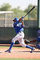 Geulin Beltre - Kansas City Royals, 2009 Instructional League.Photo by:  Bill Mitchell/Four Seam Images..