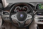 Car pictures of steering wheel view of a 2016 BMW 7-Reeks-Berline 4 Door Sedan Steering Wheel