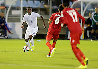 Whangarei, New Zealand - Saturday, May 30, 2015: The USMNT U-20 defeated Myanmar 2-1 in first round Group A play during the FIFA U-20 World Cup at Northlands Event Centre.