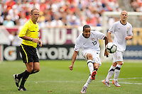 Ricardo Clark (13) of the United States during an international friendly between the men's national teams of the United States (USA) and Turkey (TUR) at Lincoln Financial Field in Philadelphia, PA, on May 29, 2010.