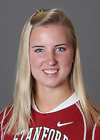 STANFORD, CA - OCTOBER 29:  Illysa McIntyre of the Stanford Cardinal women's lacrosse team poses for a headshot on October 29, 2009 in Stanford, California.