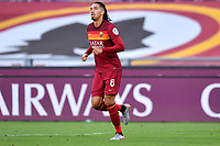 Chris Smalling of AS Roma during the Serie A football match between AS Roma and ACF Fiorentina at stadio Olimpico in Roma (Italy), July 26th, 2020. Play resumes behind closed doors following the outbreak of the coronavirus disease. <br /> Photo Antonietta Baldassarre / Insidefoto