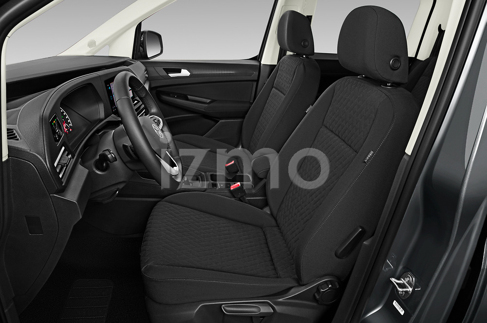Front seat view of 2021 Volkswagen Caddy Maxi-Life 5 Door Mini Mpv Front Seat  car photos