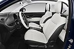 Front seat view of a 2021 Fiat 500C La Prima 2 Door Convertible