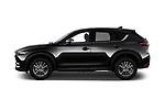 Car driver side profile view of a 2018 Mazda CX-5 Sport 5 Door SUV