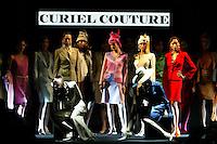 Roma 27/1/2004 <br /> Alta Moda Roma - Haute Couture - Fashion<br /> Dress collection of stylist Raffaella Curiel<br /> Foto Andrea Staccioli Insidefoto