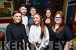 Claire Crowley from Tralee (seated), celebrating her 18th birthday in the Brogue Inn on Thursday.<br /> Front l to r: Kate Crowley and Liz Quirke.<br /> L to r: Caroline, John and Tom Crowley.