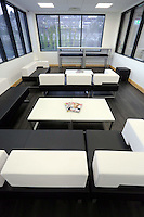 The family room at the new Swansea City FC youth academy facilities in Landore, south Wales, UK. Thursday 25 Faberuary 2016
