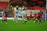 Bryce Heem of Toulon in action during the European Rugby Challenge Cup Round 5 match between the Scarlets and RC Toulon at the Parc Y Scarlets in Llanelli, Wales, UK. Saturday January 11 2020