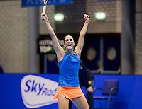 Rotterdam, Netherlands, December 18, 2016, Topsportcentrum, Lotto NK Tennis,  Bibiane Schoofs National Champion <br /> Photo: Tennisimages/Henk Koster