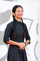 VENICE, ITALY - SEPTEMBER 11: Venezia78 Jury Member Chloé Zhao attends the closing ceremony red carpet during the 78th Venicand Venezia78 Jury Member Chloé Zhaoe International Film Festival on September 11, 2021 in Venice, Italy. <br /> CAP/MPI/AF<br /> ©AF/MPI/Capital Pictures