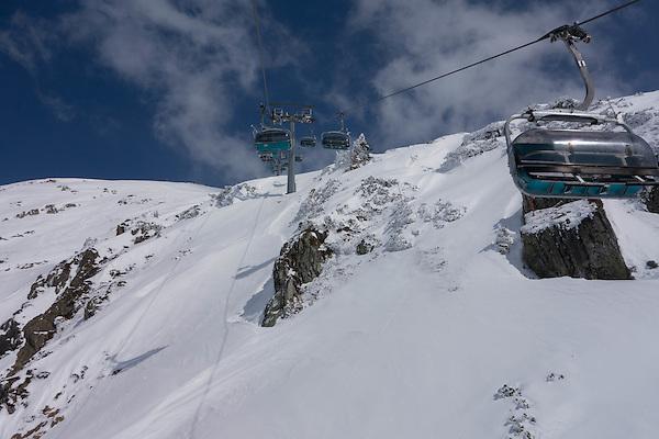 St Christoph Chairlift, St Anton Ski Area, Austria,