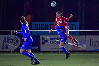 Noemie Gelders (10) of Standard pictured during a female soccer game between  Racing Genk Ladies and Standard Femina on the 13 th matchday of the 2020 - 2021 season of Belgian Scooore Womens Super League , friday 5 th of february 2021  in Genk , Belgium . PHOTO SPORTPIX.BE | SPP | STIJN AUDOOREN