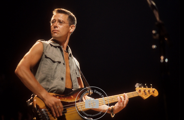 Adam Clayton of U2 in  1987