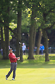 Thomas AIKEN (RSA) during round 2 of the 2015 BMW PGA Championship over the West Course at Wentworth, Virgina Water, London. 22/05/2015<br /> Picture Fran Caffrey, www.golffile.ie: