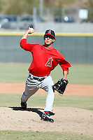 Eddie McKiernan - Los Angeles Angels, 2009 Instructional League.Photo by:  Bill Mitchell/Four Seam Images..
