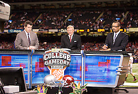 ESPN College GameDay is pictured before the game during 77th Annual Allstate Sugar Bowl Classic at Louisiana Superdome in New Orleans, Louisiana on January 4th, 2011.  Ohio State defeated Arkansas, 31-26.