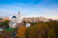 Никольская церковь с высоты 30 метров в Оренбурге