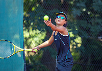 Hilversum, Netherlands, Juli 29, 2019, Tulip Tennis center, National Junior Tennis Championships 12 and 14 years, NJK, Cloë The (NED)<br /> Photo: Tennisimages/Henk Koster