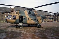 - German Army, Soviet built MI 8 helicopter, inherited after the re-unification with the East Germany<br /> <br /> - Esercito Tedesco, elicottero MI 8 di costruzione Sovietica ereditato dopo la riunificazione con la Germania Est