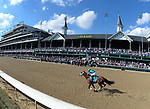 November 3, 2018: Roy H #9, ridden by Paco Lopez, wins the Twinspires Breeders' Cup Sprint on Breeders' Cup World Championship Saturday at Churchill Downs on November 3, 2018 in Louisville, Kentucky. Scott Serio/Eclipse Sportswire/CSM