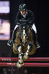 Gerco Schroder on Glock's Zaranza competes during the Airbus Trophy at the Longines Masters of Hong Kong on 20 February 2016 at the Asia World Expo in Hong Kong, China. Photo by Juan Manuel Serrano / Power Sport Images