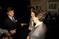 Claude Beauchamps  en Octobre 1992 durant le referendum.<br /> <br /> PHOTO : Agence Quebec Presse