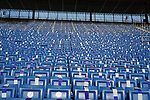 21.11.2020, PreZero-Arena, Sinsheim, GER, 1.FBL, TSG 1899 Hoffenheim vs VfB Stuttgart , <br />DFL  regulations prohibit any use of photographs as image sequences and/or quasi-video.<br />im Bild<br />Leere Zuschauerränge im Hoffenheimer Stadion<br /> <br /> Foto © nordphoto / Bratic
