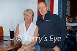 Enjoying the evening in Teacht Beag on Saturday, l to r: Vinny and Joan Walsh