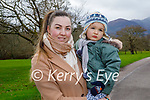 Enjoying a stroll in the Killarney National park on Friday, l to r: Dorina and Matio Copia