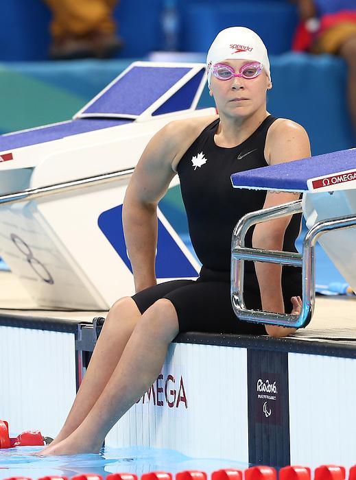 Tammy Cunnington, Rio 2016 - Para Swimming // Paranatation.<br /> Tammy Cunnington competes in the women's 50m breaststroke // Tammy Cunnington participe au 50 m brasse féminin. 14/09/2016.