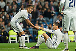 Real Madrid's Cristiano Ronaldo during the match of UEFA Champions League group stage between Real Madrid and Legia de Varsovia at Santiago Bernabeu Stadium in Madrid, Spain. October 18, 2016. (ALTERPHOTOS/Rodrigo Jimenez)