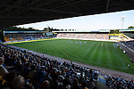 St Johnstone v FC Luzern...24.07.14  Europa League 2nd Round Qualifier<br /> Over 8000 fans pictured in McDiarmid Park watching the St Johnstone v FC Luzern game<br /> Picture by Graeme Hart.<br /> Copyright Perthshire Picture Agency<br /> Tel: 01738 623350  Mobile: 07990 594431