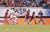 Jacksonville, FL - April 5, 2018: The USWNT defeated Mexico 4-1 during an International friendly at EverBank Field.