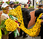 BALTIMORE, MD,  MAY 19: Black-Eyed Susans heading towards the winners circle at Pimlico Racecource on May 19, 2018 in Baltimore, Maryland. (Photo by Sue Kawczynski/Eclipse Sportswire/Getty Images)