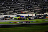 NASCAR Camping World Truck Series<br /> JAG Metals 350<br /> Texas Motor Speedway<br /> Fort Worth, TX USA<br /> Friday 3 November 2017<br /> Noah Gragson, Switch Toyota Tundra leads<br /> World Copyright: Rusty Jarrett<br /> LAT Images