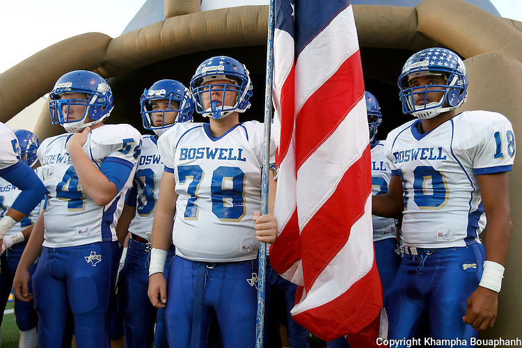 Boswell plays Denton at Bronco Field in Denton on Friday, October 3, 2014. (photo by Khampha Bouaphanh)