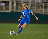 Megan Oyster. UCLA advanced on penalty kicks after defeating Virginia, 1-1, in regulation time at the NCAA Women's College Cup semifinals at WakeMed Soccer Park in Cary, NC.