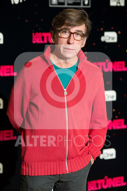 """The director of the film, Pepon Montero attends to the junket of the film """"Los del Tunel"""" at Palafox Cinema in Madrid, Spain. January 17, 2017. (ALTERPHOTOS/BorjaB.Hojas)"""